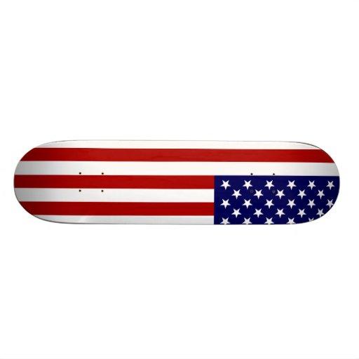 USA-Flagge Individuelle Skateboarddecks