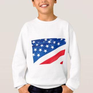 USA-Flagge Sweatshirt