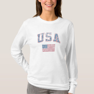 USA + Flagge T-Shirt