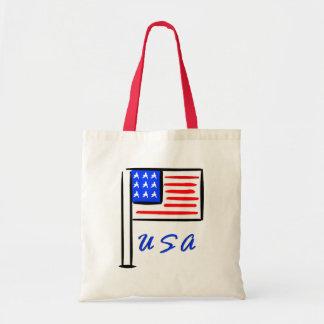 USA-Flagge Tragetasche