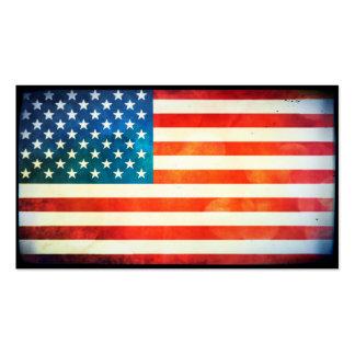 USA-Flagge Visitenkarten