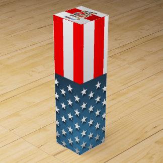 USA-Flagge Weinbox