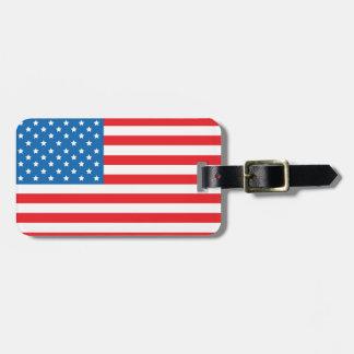 USA-Flaggen-Gepäck-Umbau Kofferanhängern