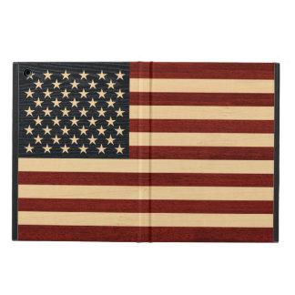 USA-FLAGGEN-HOLZ