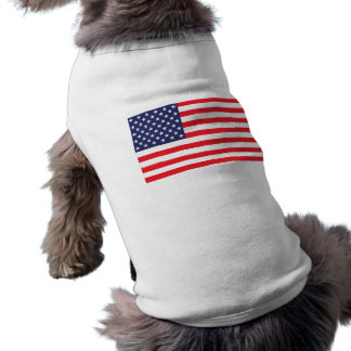 USA-Flaggen-Hundejacke Top