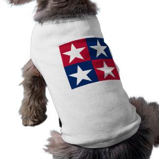 USA-Flaggen-Pop-Kunst-Sterne T-Shirt