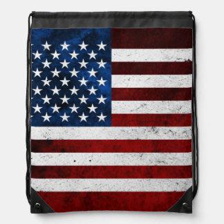 USA-FLAGGEN-SCHMUTZ TURNBEUTEL