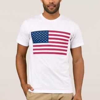 USA-Flaggen-Shirt T-Shirt