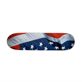 USA-Flaggen-Skateboard Bedrucktes Skateboard
