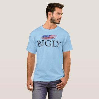 USA Flaggen-T - Shirt bigly