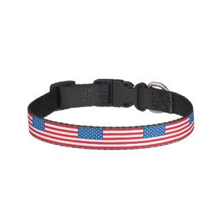 USA-Flaggen-US Flagge Haustierhalsband