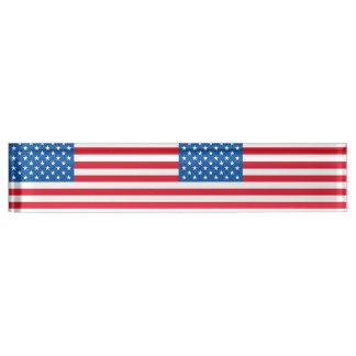 USA-Flaggen-US Flagge Namensplakette