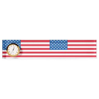 USA-Flaggen-US Flagge Schreibtischplakette
