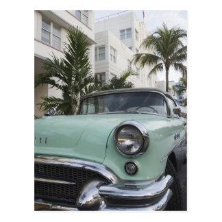 USA, Florida, Miami Beach: Südbeach, 1956 3 Postkarte