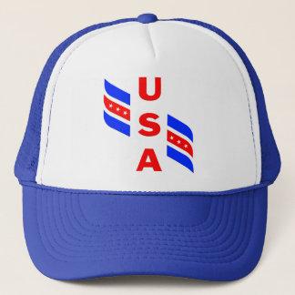 USA-FLÜGELSPIELER TRUCKERKAPPE