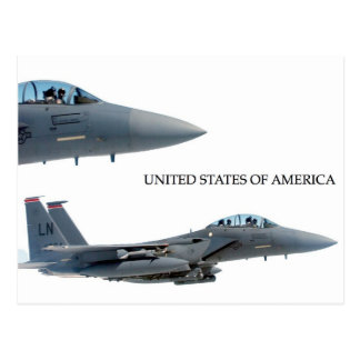 USA-FLUGZEUGE POSTKARTE