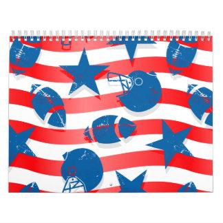 USA-Fußball Abreißkalender
