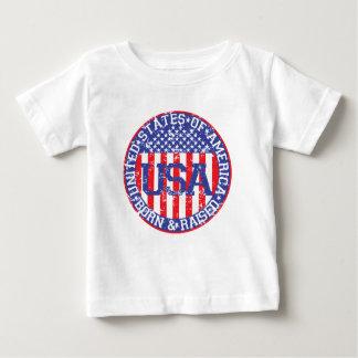 USA geboren und angehoben Baby T-shirt