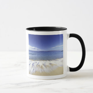 USA, Hawaii, Maui, Brandung, die zu Makena Tasse