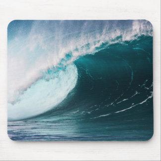 USA, Hawaii, Oahu, große Wellen Mauspads