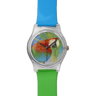 USA Hawaii Papagei Uhren