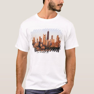 USA, Illinois, Chicago, Stadt-Skyline am T-Shirt