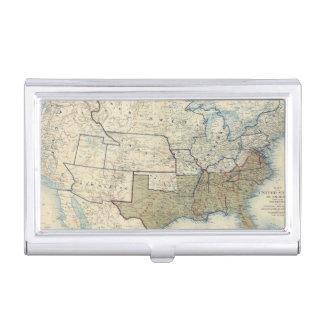 USA im Juni 1864 Visitenkarten Etui