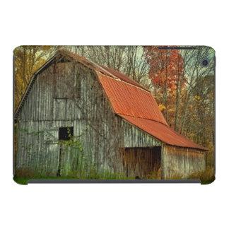 USA, Indiana. ländliche Landschaft, weinberankte iPad Mini Hülle