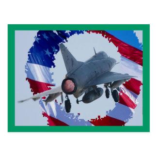 USA-Jet Postkarte
