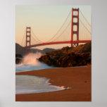 USA, Kalifornien. Golden gate bridge-Ansicht Poster