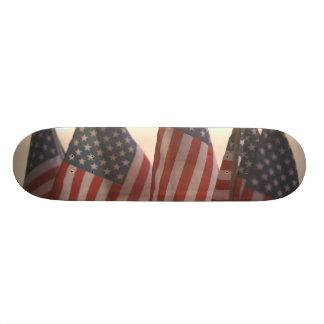 USA, Kalifornien, Goldland, Amador-Stadt: Individuelle Skatedecks