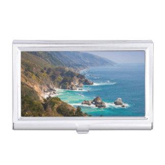 USA, Kalifornien. Kalifornien-Küste, großes Sur Visitenkarten Dose