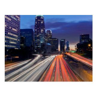 USA, Kalifornien, Los Angeles, Autobahn 110 Postkarte