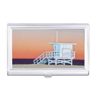 USA, Kalifornien, Los Angeles, Santa Monica Strand Visitenkarten Etui