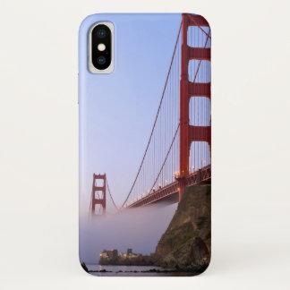 USA, Kalifornien, San Francisco. Golden Gate 3 iPhone X Hülle