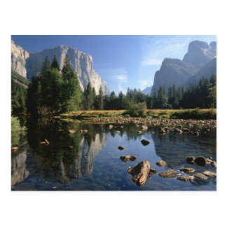 USA, Kalifornien, Yosemite Nationalpark, 5 Postkarte