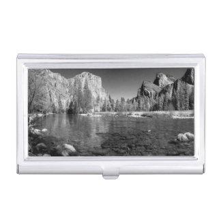 USA, Kalifornien. Yosemite-Tal-Ansicht Visitenkarten Dose