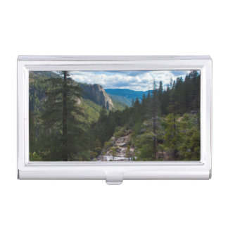 USA, Kalifornien. Yosemite-Tal Vista Visitenkarten Etui