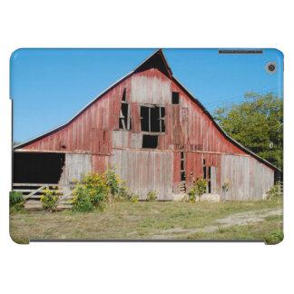 USA, Kansas, alte rote Scheune iPad Air Hülle
