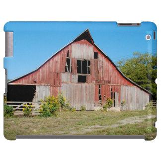 USA, Kansas, alte rote Scheune iPad Hülle