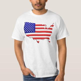 USA-Karte T-Shirt