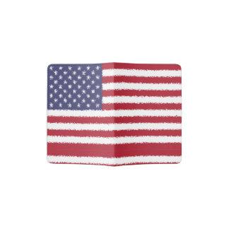 USA kennzeichnen amerikanische patriotische Passhülle