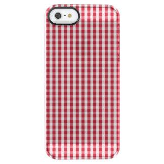 USA kennzeichnen den roten und weißen überprüften Durchsichtige iPhone SE/5/5s Hülle