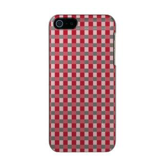 USA kennzeichnen den roten und weißen überprüften Incipio Feather® Shine iPhone 5 Hülle