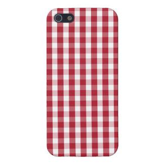 USA kennzeichnen den roten und weißen überprüften iPhone 5 Etui