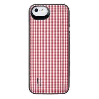 USA kennzeichnen den roten und weißen überprüften iPhone SE/5/5s Batterie Hülle