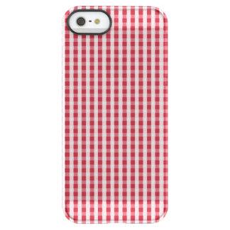 USA kennzeichnen den roten und weißen überprüften Permafrost® iPhone SE/5/5s Hülle