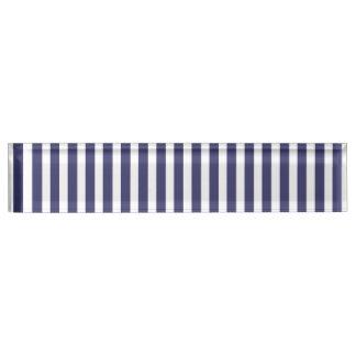 USA kennzeichnen die blauen und weißen Streifen Namensplakette