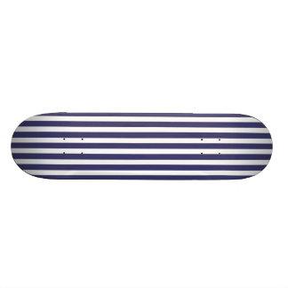 USA kennzeichnen die blauen und weißen Streifen Personalisiertes Skateboarddeck