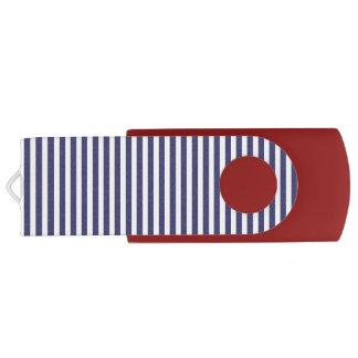 USA kennzeichnen die blauen und weißen Streifen USB Stick